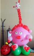№2.23 Нюша из воздушных шаров - 500 руб.