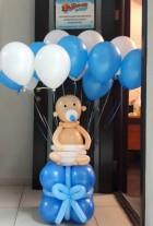 №15.02 Малыш из шаров на подарке - 550р., гелиевые шары от 54 руб.\шт.