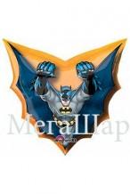 """№7.18 Воздушный гелиевый шар """"Бэтмен"""", высота 81см., стоимость 500р."""