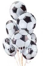 """№7.16. Воздушный шар """"Футбольный мяч"""", диаметр 46 см., стоимость 200р."""