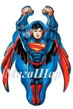 """№7.51. Воздушный шар """"Супермен"""", размер 86 см., стоимость 500р."""