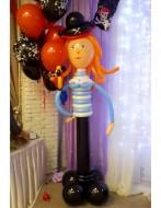 №2.41. Пиратка из шаров, высота 1.3-1.5 метра, стоимость 1000р.