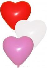 №10.13.Гелиевое сердце, диаметр 35 - 40 см., стоимость с обработкой 90 р., без обработки 80р.