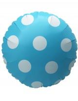 """№15.42 Фольгированный круг """"точки"""", 45 см. - 200 руб."""