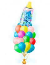 №15.47. 1630р - облако из 20-и гелиевых шаров с обработкой и бутылочка.