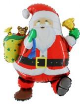 №9.20.  Дед Мороз, высота 76см., стоимость - 350 руб.