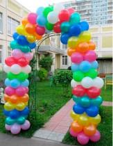 №4.13 Арка из шаров. стоимость - 200 р./метр.
