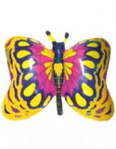 №7.53 Бабочка желтая, синяя, зеленая или красная. 81см., стоимость - 290 руб.