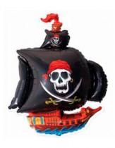 """№7.53. Воздушный шар """"Пиратский корабль"""". Размер - 104 см., стоимость 300р."""