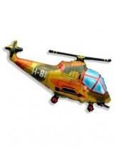 """№7.58. Воздушный шар """"вертолет"""", цвета: синий, красный и военный. Размер 97 см., стоимость 300р."""