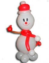 №9.22 Снеговик из шаров. Стоимость - 350 рублей.