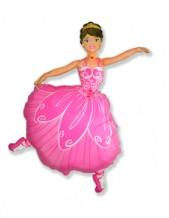 """№7.22. Воздушный шар """"Балерина"""", высота 92 см., стоимость 330 р."""
