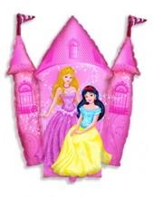 """№7.60. Воздушный шар """"Замок Принцессы"""". Размер 84 см., стоимость 330р."""