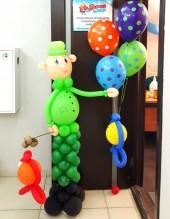 №11.31 Рыбак из шаров - 900р. Гелиевые шары на включены!