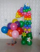 №3.04. Цифра из шаров - 750 руб., гелиевые шары от 46 руб./шт.