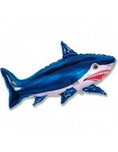 """№7.42. Воздушный шар """"Акула"""", длина 101 см., стоимость 300р."""