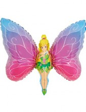 """№7.30. Воздушный шар """"Девочка-бабочка"""", высота 98 см., стоимость 300р."""