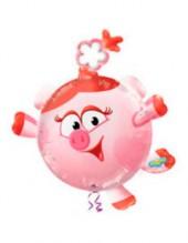 """№7.29. Воздушный шар """"Нюша"""", высота 105 см., стоимость 500р."""