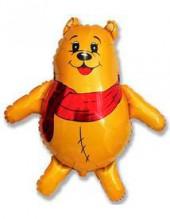 """№7.59. Воздушный шар """"Медвежонок в шарфике"""". Размер 81 см., стоимость 300р."""