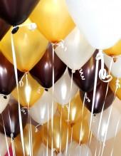 №5.13. Гелиевые шары металл. Стоимость с обработкой - 42р., без обработки - 37р.