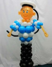 №11.14 Моряк из воздушных шаров - 900 руб.
