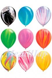 """№ 10.307. Воздушный шар """"Агат"""", ассорти. Производитель США, стоимость с обработкой 115р.\шт."""