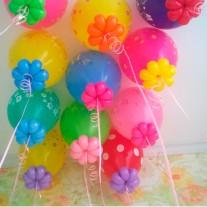 №15.20 Гелиевые шары с обработкой и доп. оформлением - 100 руб.\шт.