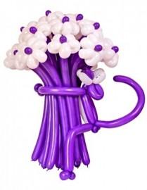 №1.07.Букет из 15-и цветов с пантерой. Цветовая гамма на выбор, высота 1.3 м. Стоимость - 800р.