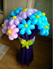 №1.20. Букет из 15 цветов - 750р. Цвет любой, высота 1.2 м.