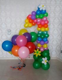 №3.24 Цифра из шаров - 750 руб., гелиевые шары от 30 руб./шт.