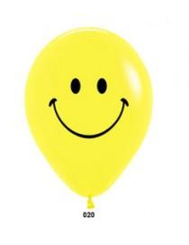 """№10.222 Воздушный шар """"Смайл"""". Стоимость гелиевого шарика с обработкой - 45 руб., без обработки - 40 руб."""
