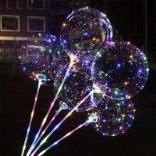 """№ 10.101. Воздушный шар """"Бобо"""" (светящийся на палочке). Диаметр 45-50 см., стоимость 300р."""