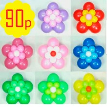 Цветок большой, подвесной - 90р. Цвет любой.