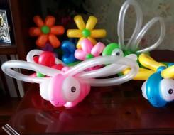 №2.14 Стрекоза из воздушных шаров - 100 руб.