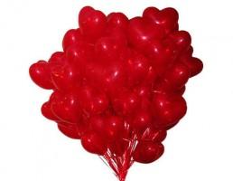 №14.55.  Сердце с гелием  95 руб./шт.