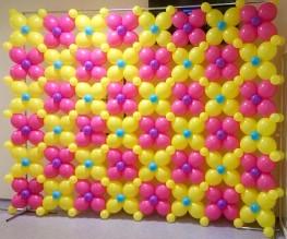 Фотозона из шаров 1600р\кв.м.