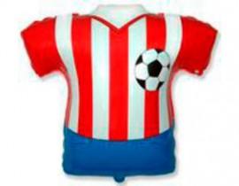 №7.56 Футболка красно-белая, 66см., стоимость - 290 руб.