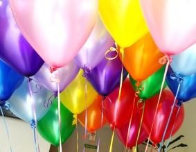 №5.05.   Цветные перламутровые шарики и металл с обработкой - 70р.\шт., без обработки - 64 р.\шт.