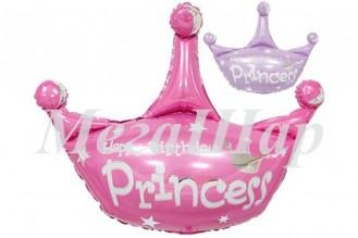 """№7.35. Воздушный шар """"Корона принцессы"""", ширина 81 см., стоимость 300р."""