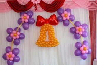 Цветок подвесной 90 р\шт. Колокольчик из шаров 1.5-1.6м - 1450р.