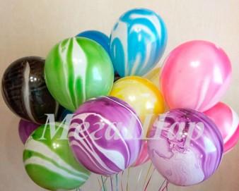 """№ 10.309. Воздушный шар """"Агат"""", ассорти. Производитель Мексика, стоимость с обработкой 74р., без обработки 64р."""