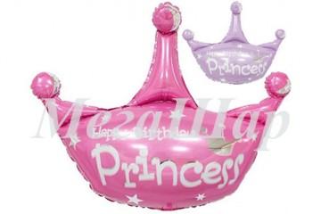 """№14.47. Воздушный шар """"Корона принцессы"""", ширина 81 см., стоимость 300р."""