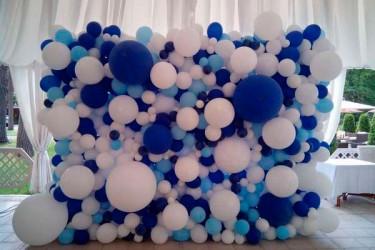 №11.65. Фотозона из шаров, цвет любой - 1600р/кв.м.