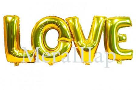 """Надпись """"Love"""", высота букв 102 см., стоимость гелиевой надписи - 2400р., стоимость надписи с воздухом 1600р."""